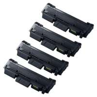 Compatible Samsung MLT-D116L toner cartridges, 4 pack