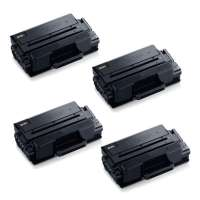Compatible Samsung MLT-D203L toner cartridges - high capacity (high yield) black - 4-pack