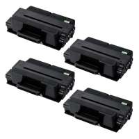 Compatible Samsung MLT-D205L toner cartridges - high capacity (high yield) black - 4-pack