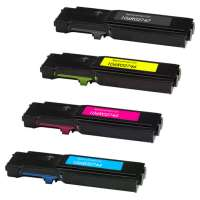 Compatible Xerox 106R02747, 106R02744, 106R02745, 106R02746 toner cartridges, 4 pack